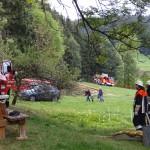 Alarmübung am 26.09.2015 in Haselbach Anwesen Völk