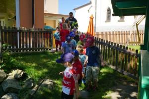 Übung im Kindergarten Haus i. W. am 08.Juli 2016